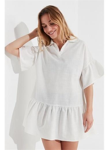 Penti Plaj Elbisesi Beyaz